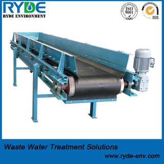 Durable Belt Conveyor for Wastewater And Sludge Treatment